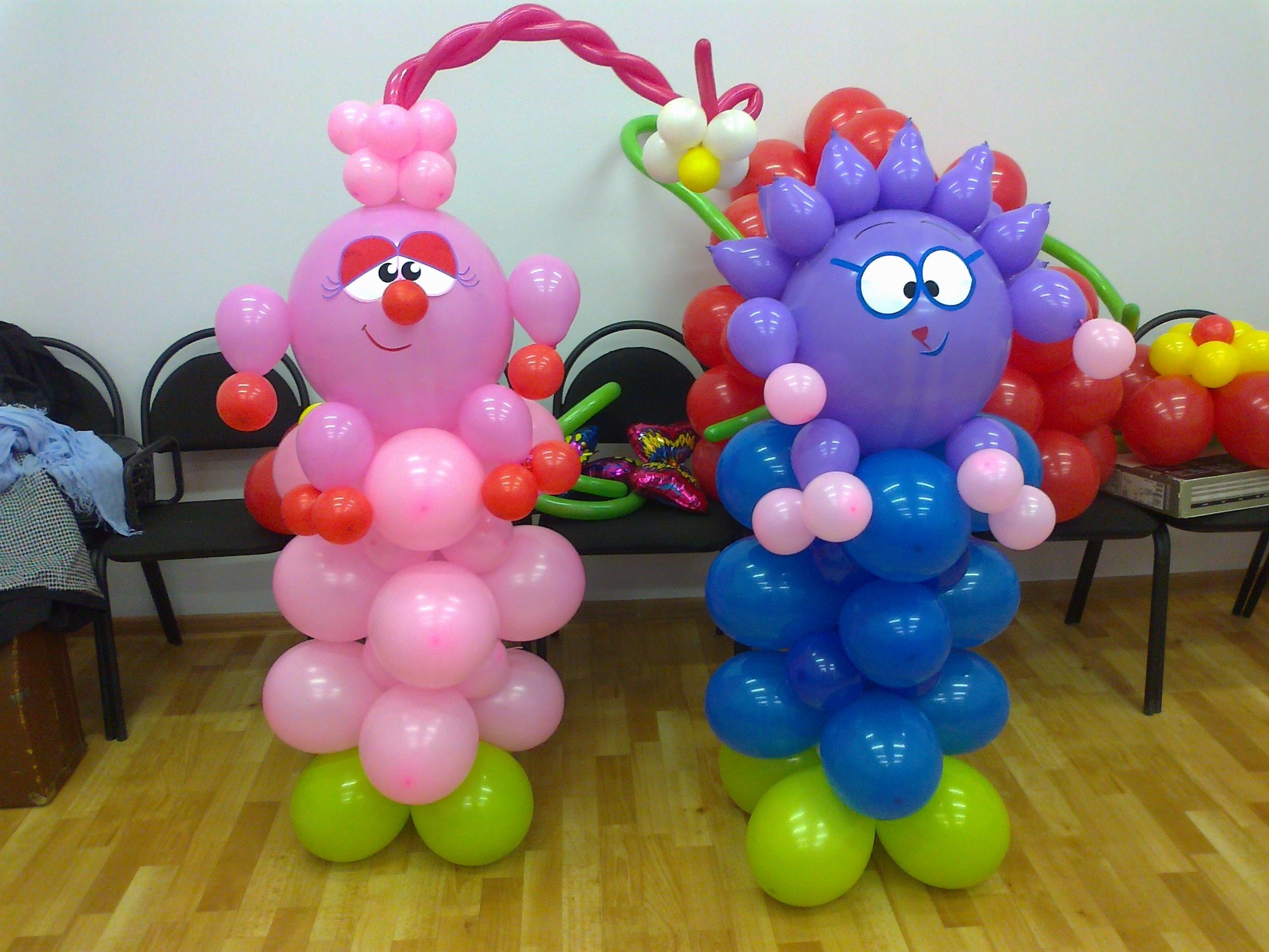 Фигуры из воздушных шаров своими руками фото для начинающих